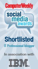 Computer Weekly Social Media Awards 2011 finalist